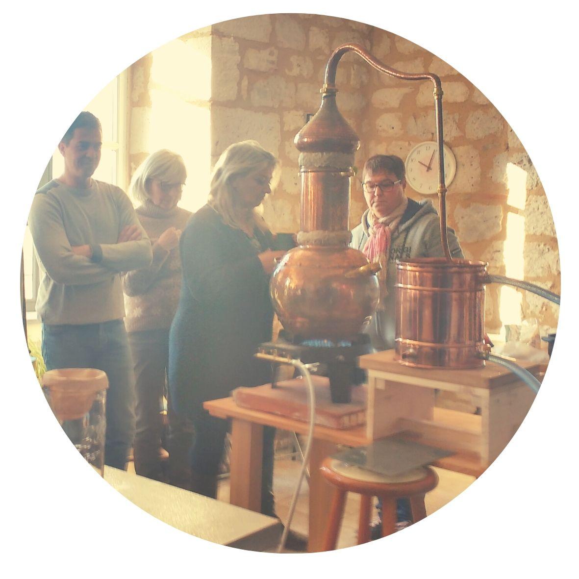 stage distillation