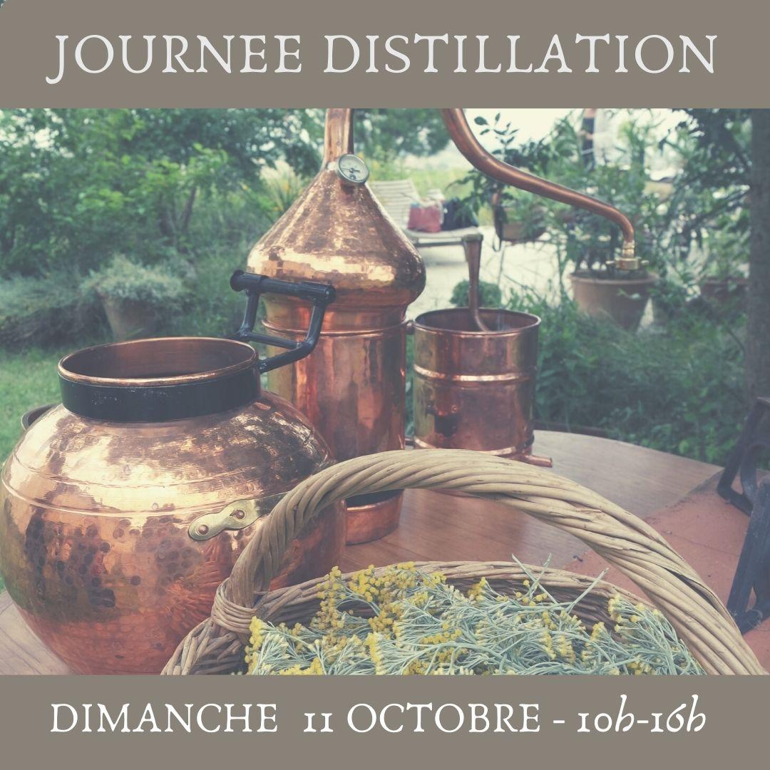 stage herboristerie atelier distillation hydrolat plantes médicinales